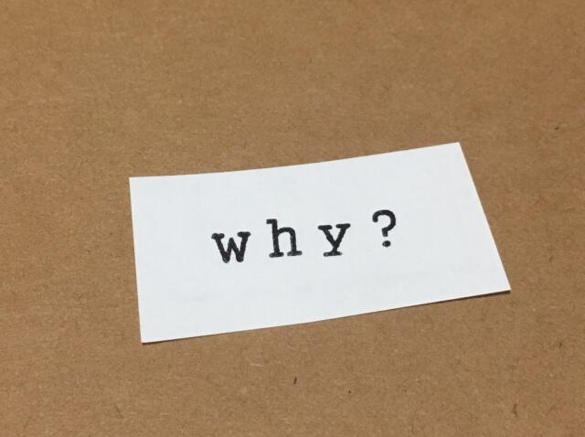 なぜこのブログを書くのか?