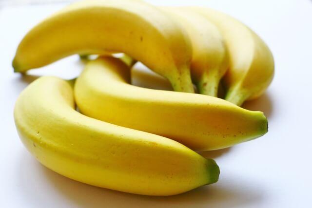 足がつるときは、バナナも良いよ!